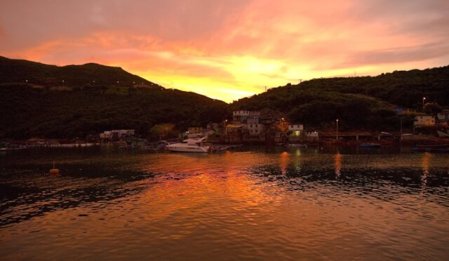 Sunset over Clearwater Bay