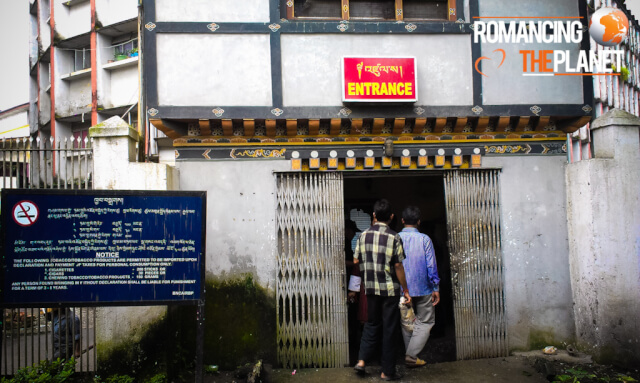 Official entry point into Bhutan