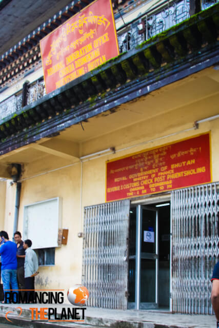 Regional Immigration Office at Phuentsholing