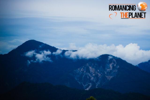 Beautiful mountains in Bhutan