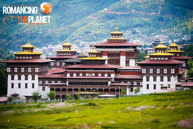 Trashi Chhoe Dzong in Thimphu