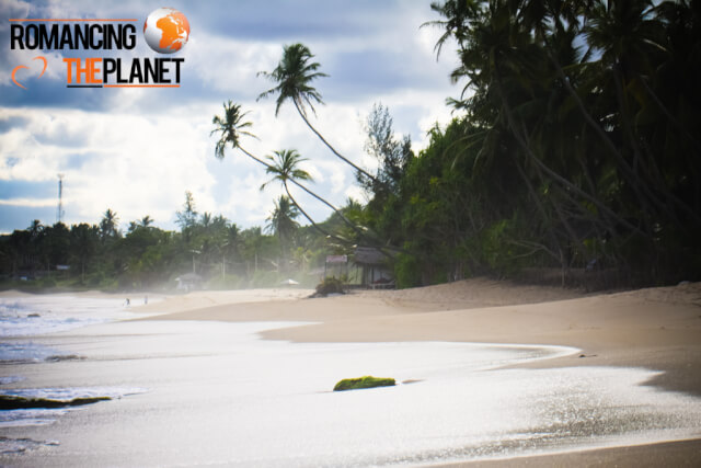 Beach in Tangalla, Sri Lanka