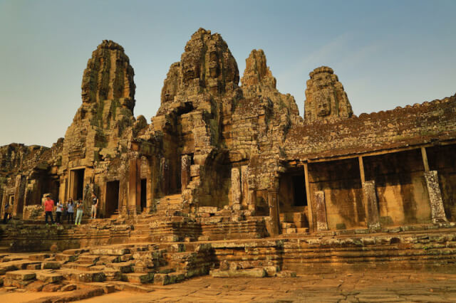 View of Bayon temple from another angle