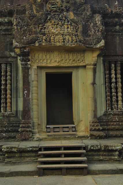 A doorway leading into Angkor Wat temple