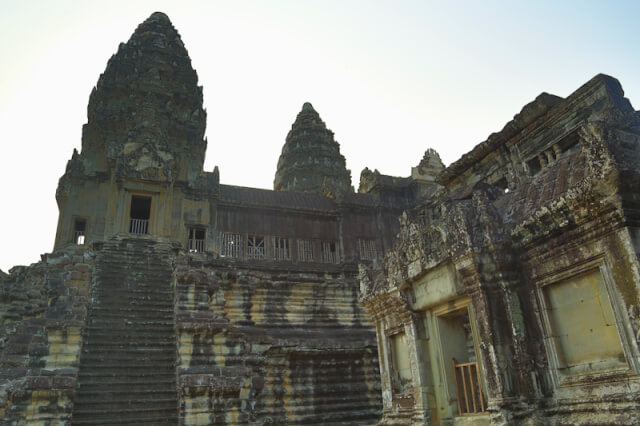 A tower of Angkor Wat temple