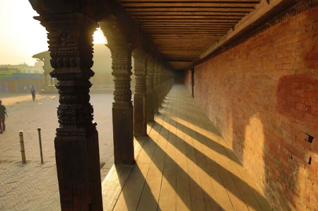 Courtyard in Bhaktapur Durbar Square