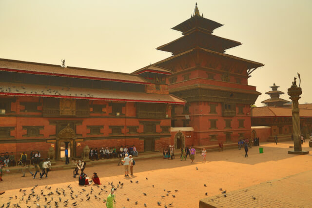 Another view of Patan Durbar Square