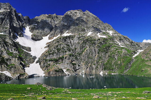 Gadsar Lake, Kashmir