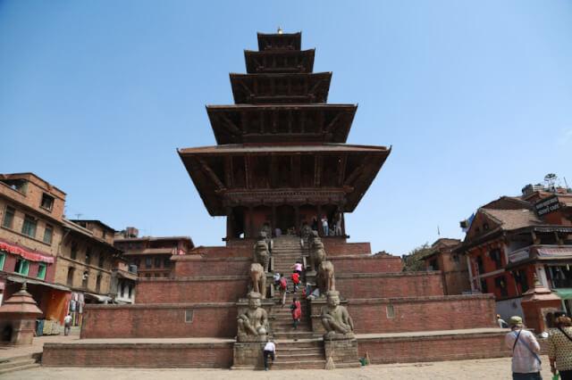 Nyatapola Temple, Taumadhi Square, Bhaktapur