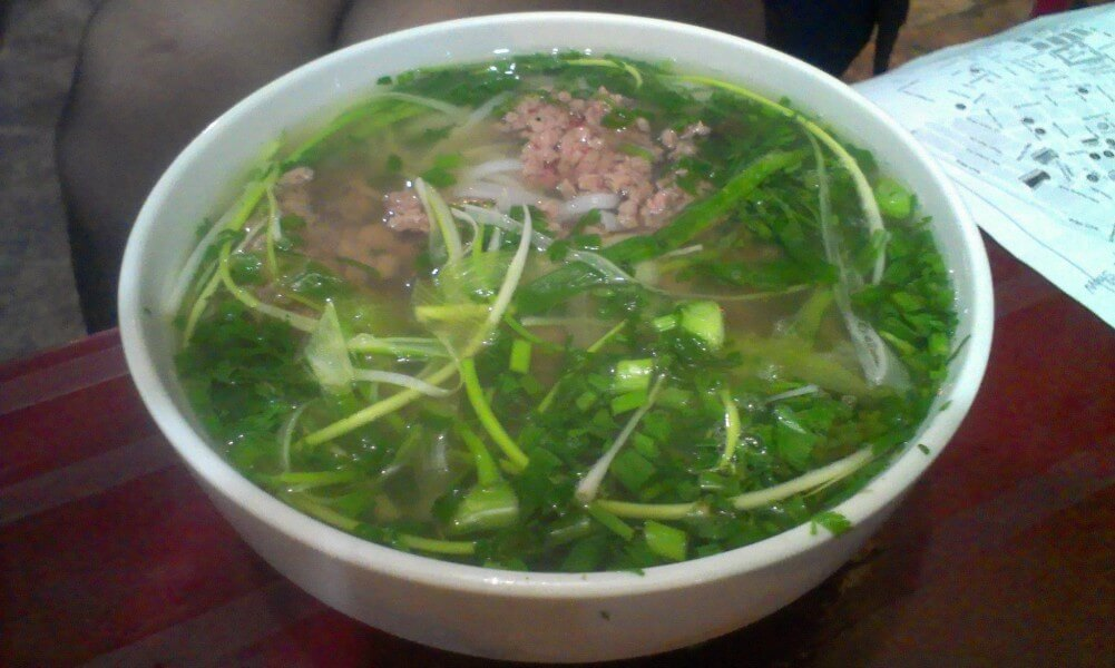 Pho is a famous food in Vietnam