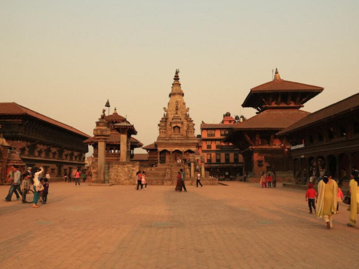 Bhaktapur Durbar Square in Nepal
