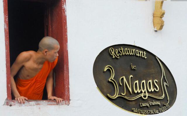 3 Nagas Restaurant in Luang Prabang