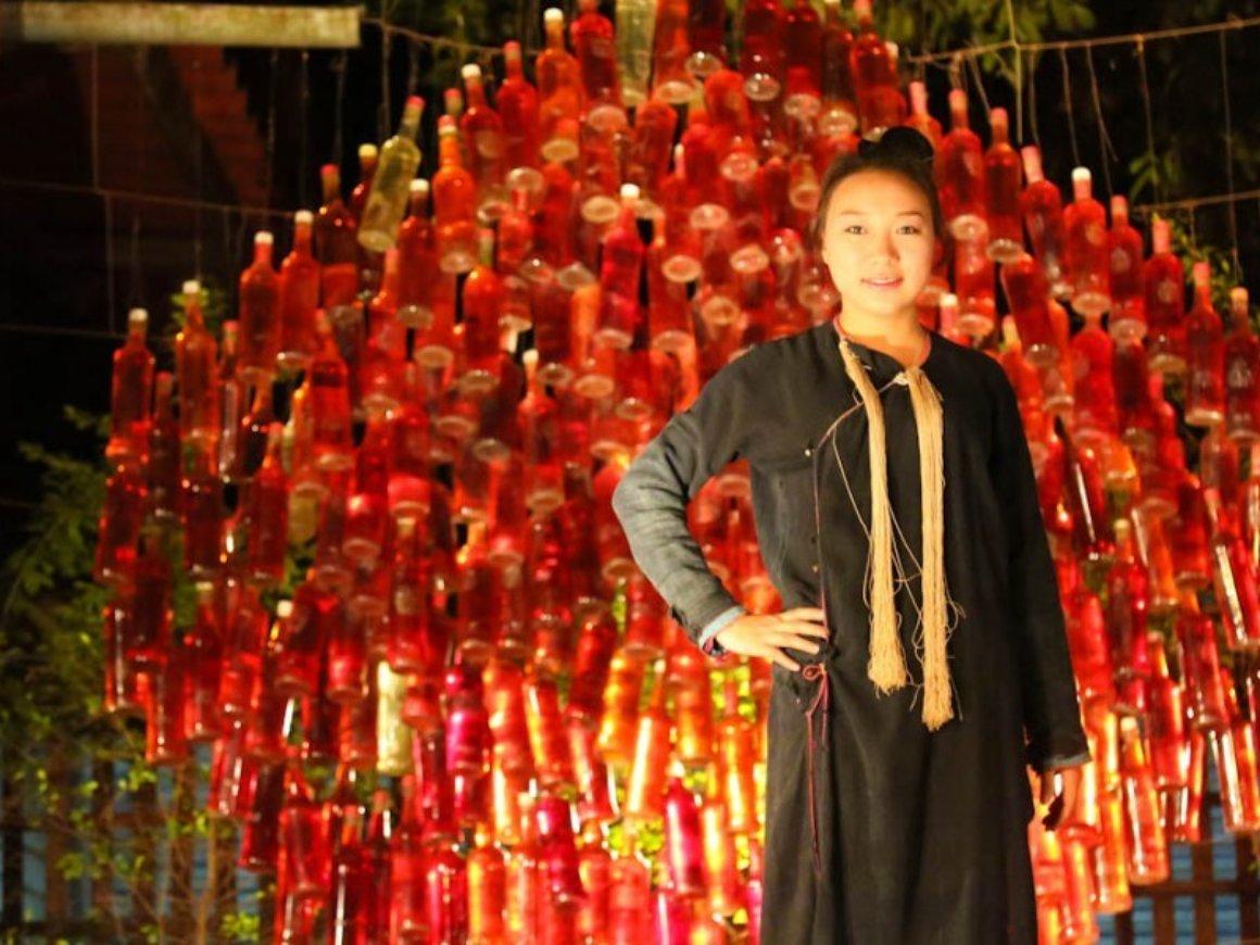 Ethnik Fashion Show at Hive Bar in Luang Prabang