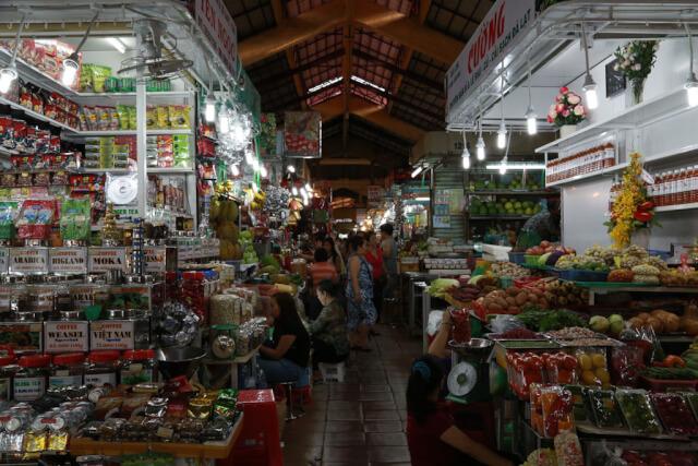 Inside Cho Ben Thanh, Saigon