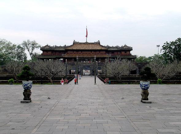 Inside the Citadel of Hue