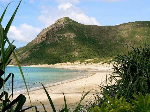 Isolated beach in Con Dao Islands