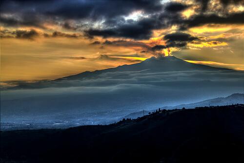 Mount Etna – Italy
