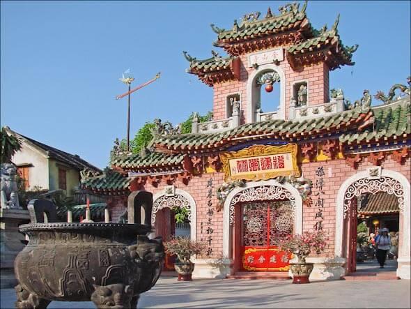 Pagoda in Hoi An