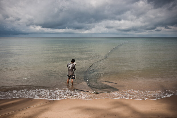 Fisherman at Phu Quoc Island