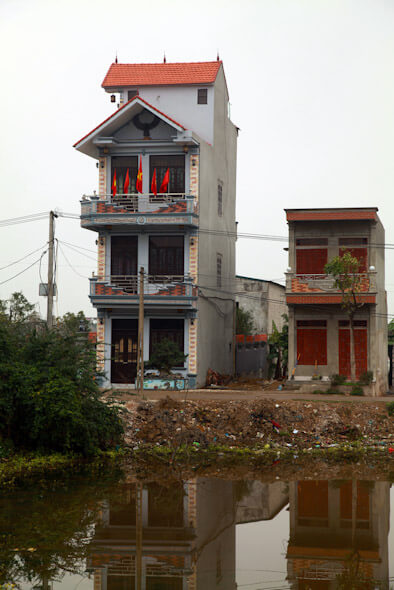 Typical house in Vietnam