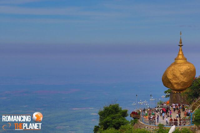 Kyaiktiyo Pagoda - Myanmar
