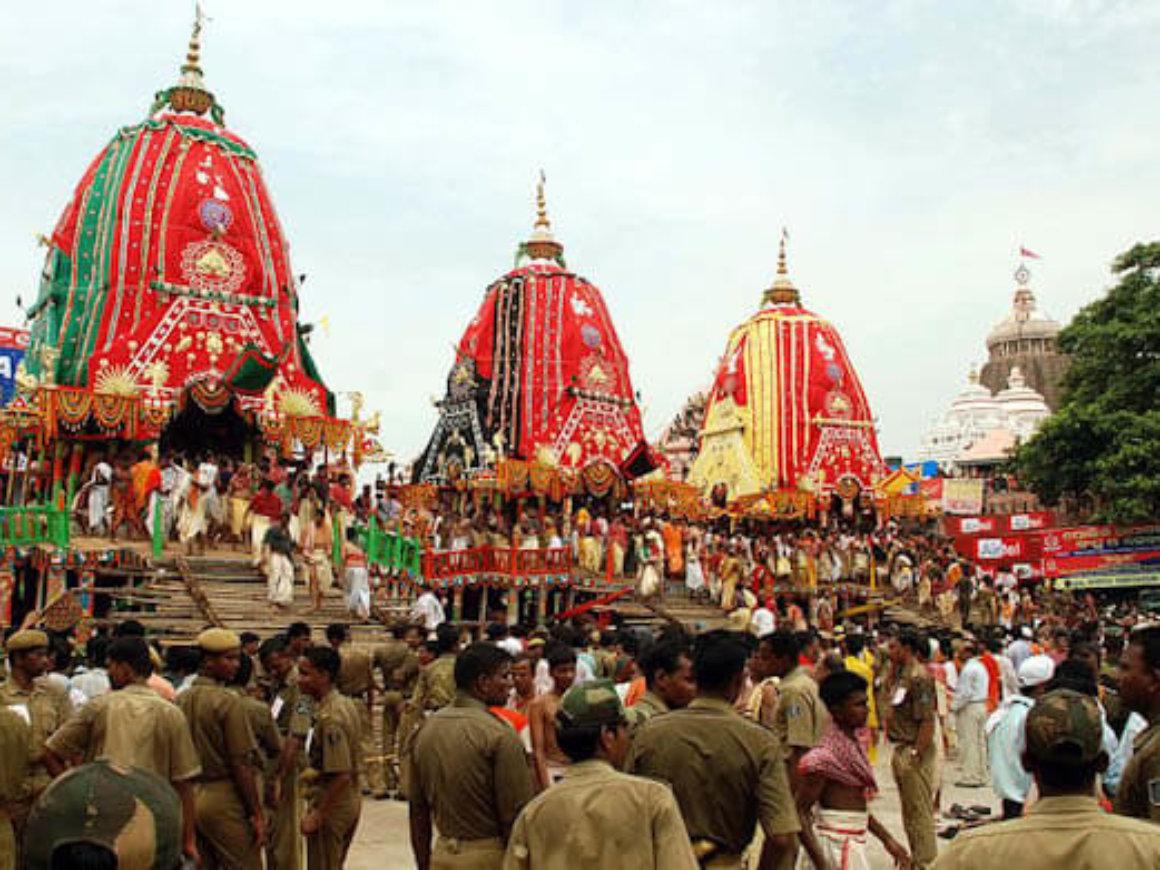 Puri Ratha Yatra in Odisha
