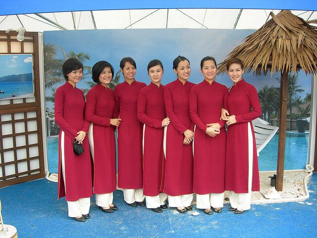 Women in Ao Dai