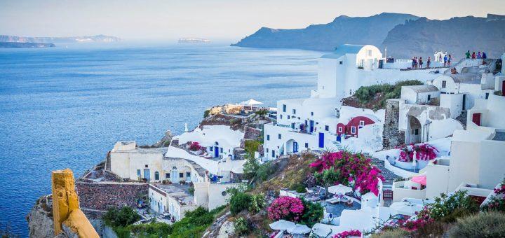island getaways for a perfect honeymoon - santorini