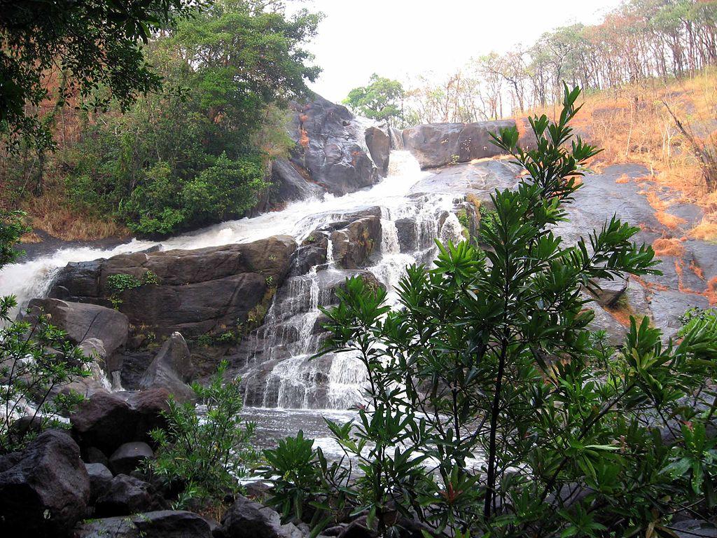 waterfalls in wayanad - Meenmutty Falls