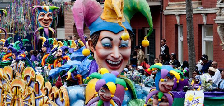 mardi gras - events in usa