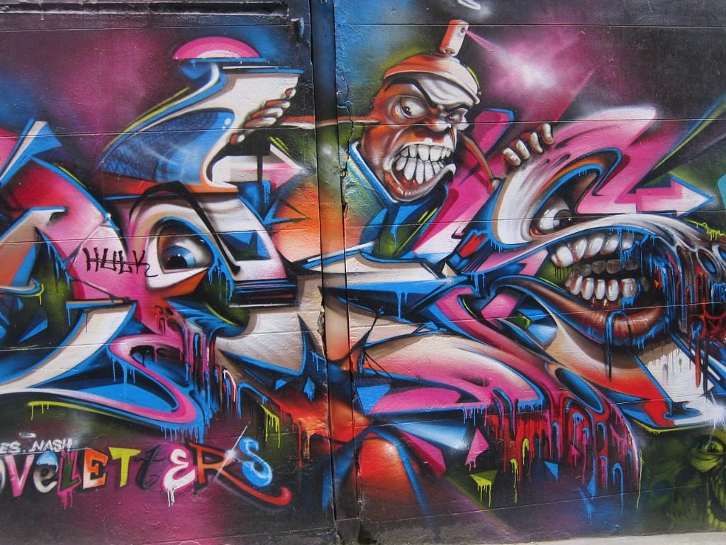 Things To Do In Australia - graffiti Melbourne