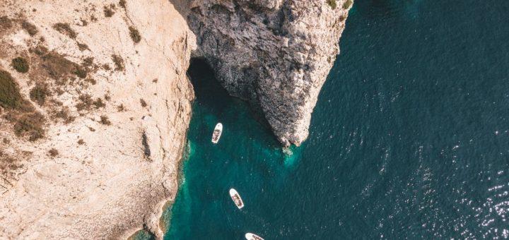 blue cave in croatia