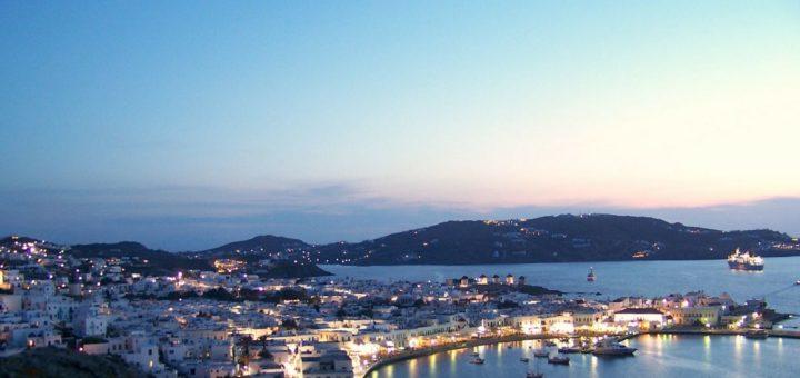mykonos - sailing holidays in greece