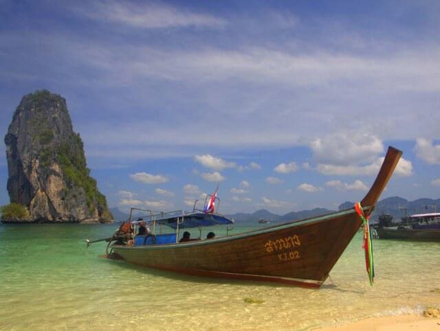 A beach in Krabi