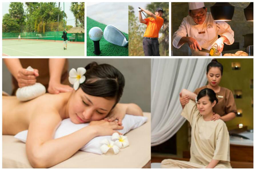 Activities at Angkor Palace Resort