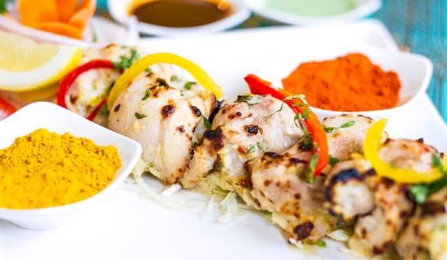 Chicken Malai Tikka at The Bazaar
