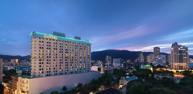Cititel is one of the biggest hotel in Penang