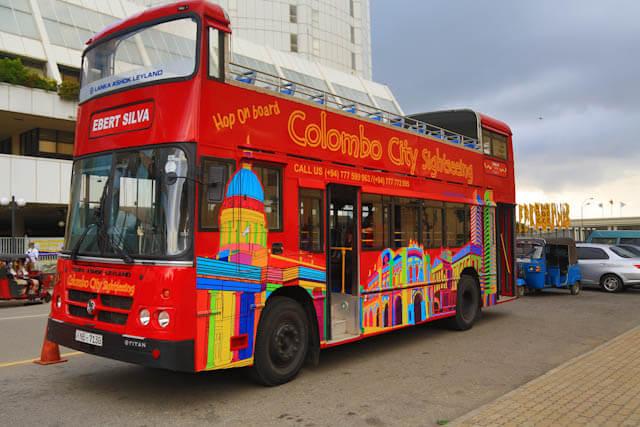 Colombo City Tours Open Top Bus