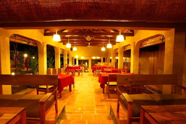 Restaurant at Daisy Resort, serves delicious Vietnamese and Western food