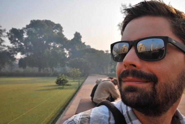 David-Webb-at-Taj-Mahal-India