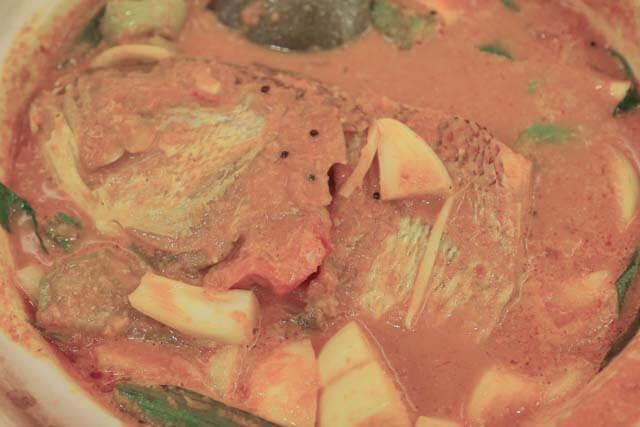 Fish Head Curry at Sakuntalas