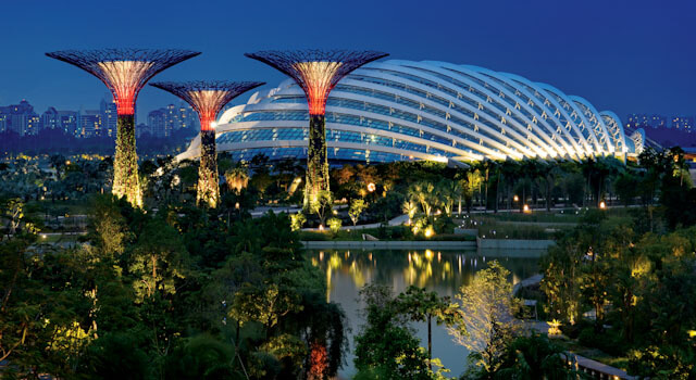 Flower Dome at Gardens By The Bay