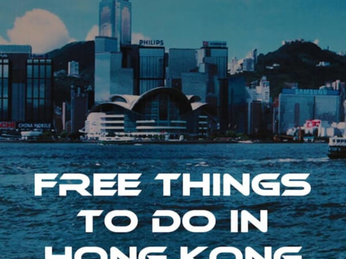 Free things to do in Hong Kong