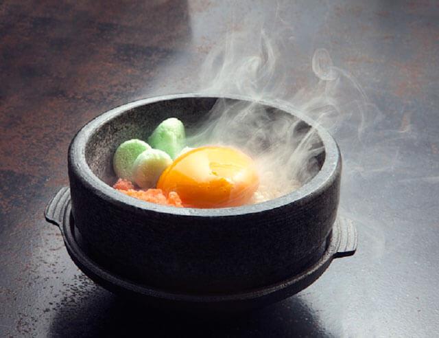Frozen Bibimbap - Spicy dessert at Ding Dong