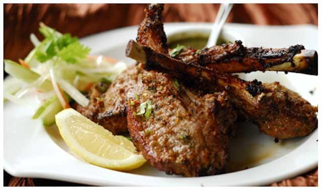 Tandoori Lamb Chops at Tandoori Corner