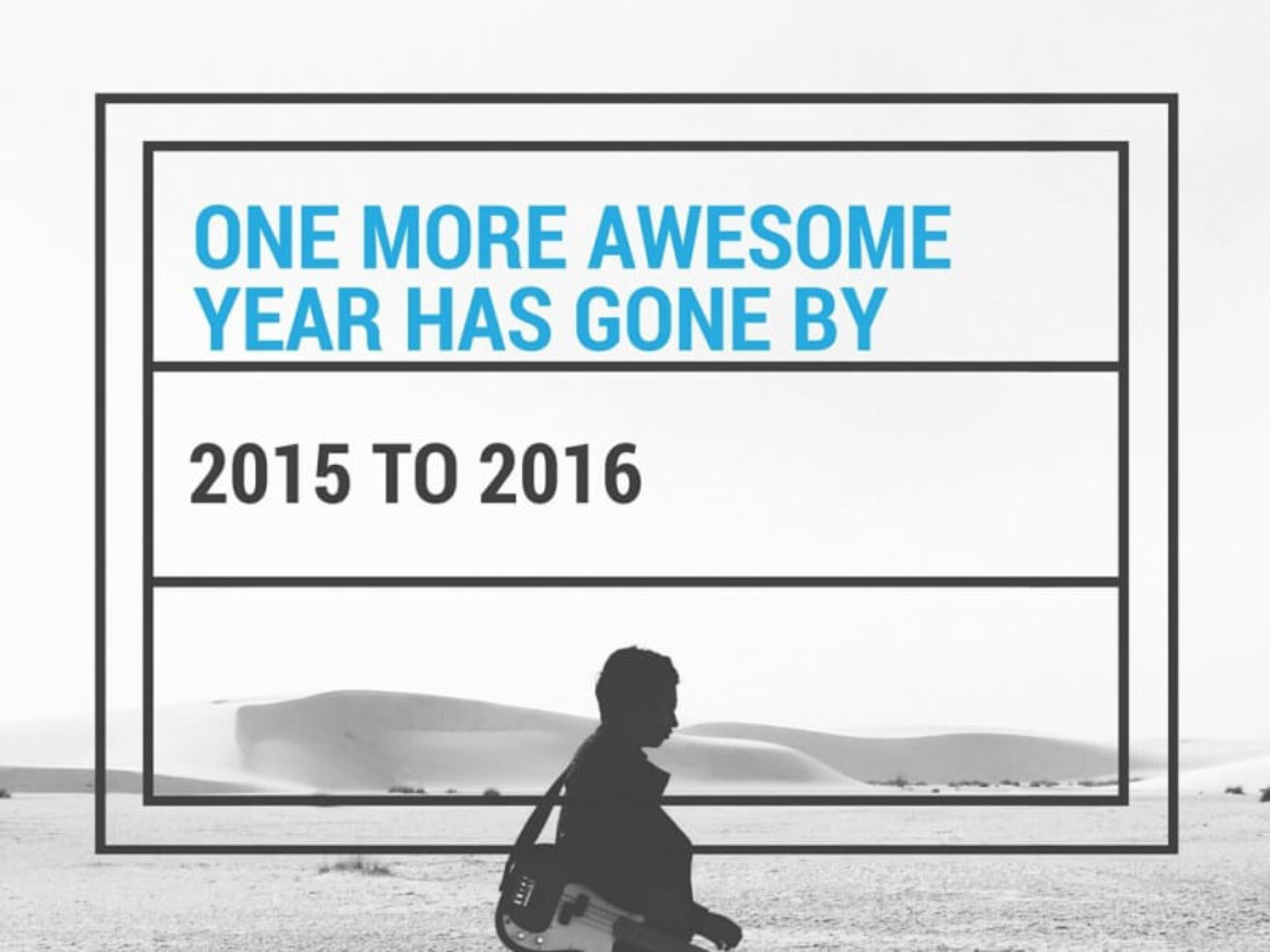 One More Awesome Year Has Gone By