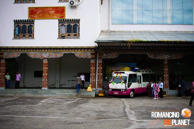 Phuentsholing bus station