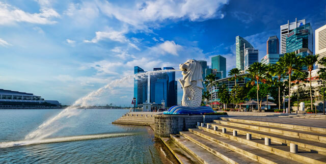 The Merlion of Singapore