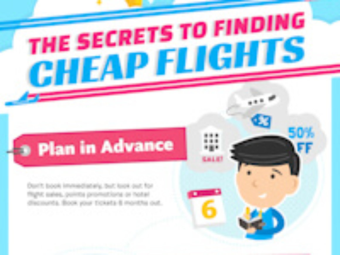 The Secrets To Cheap Flights
