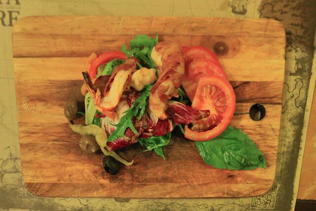 Tre Salad is one of my favorite at Via Pre